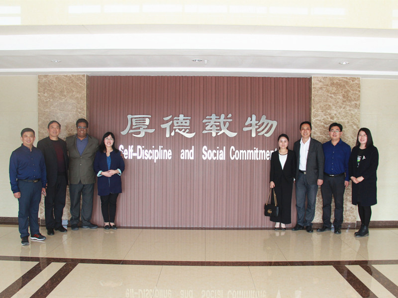 Welcome Delegation of China Council for the Promotion of International Trade Visit Our Factory