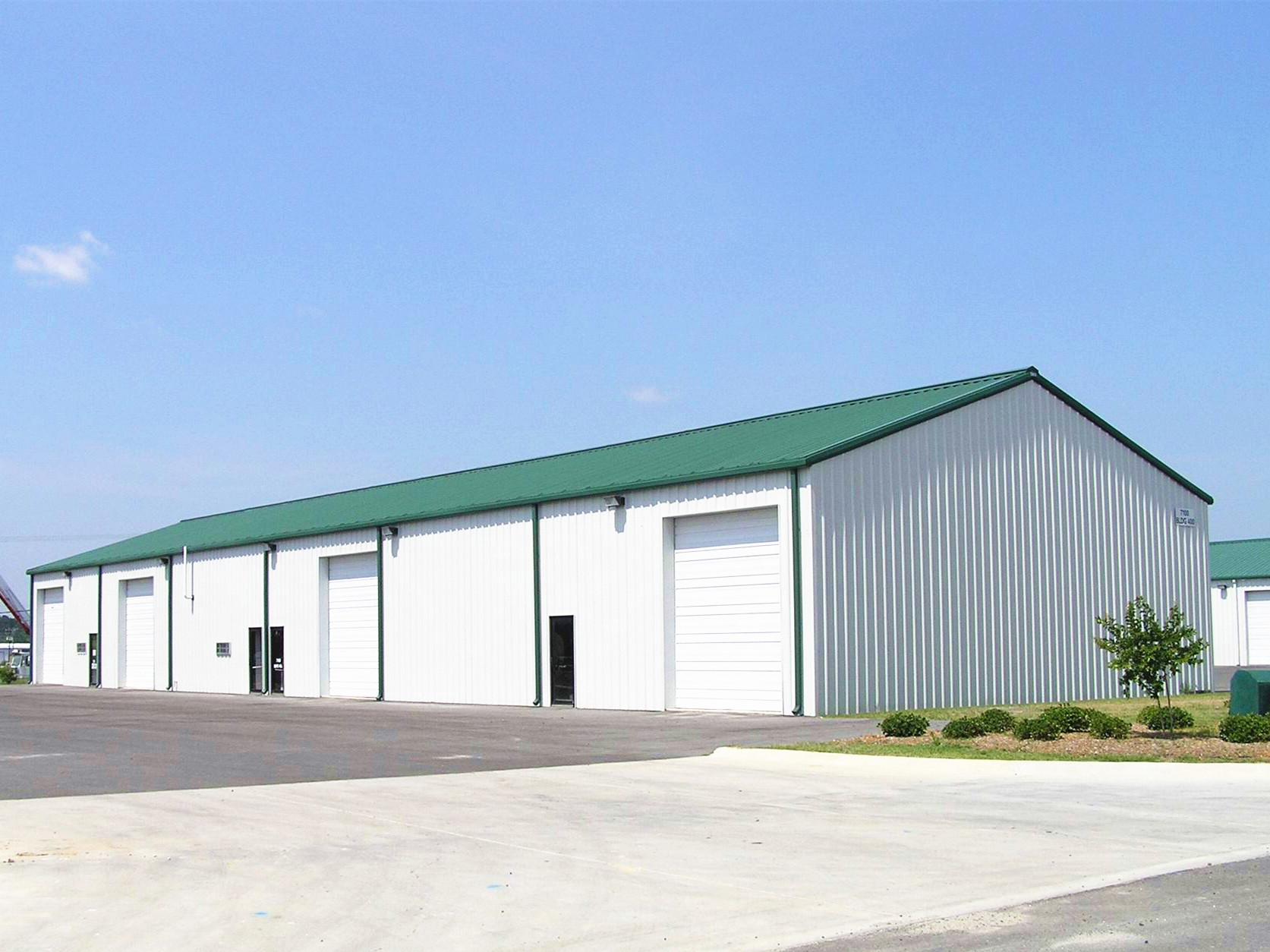 Steel Structure Car Warehouse BY-CW-3